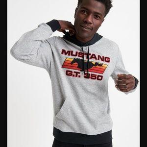 lucky brand | mustang gt350 color block hoodie